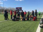 Girls Varsity Soccer falls to Mercy 2 – 0