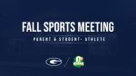 Fall Sports: Mandatory OHSAA Parent and Athlete Meeting (Online)