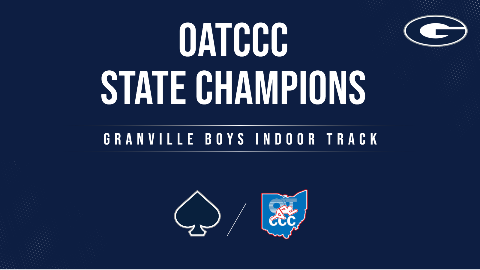 Granville Boys Wins Indoor State Championship