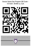 Soccer Game Day Program QR Code – 10/15/20 – BVNW vs. St. James