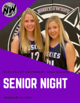 "Girls Basketball ""Senior Night"" Program – 2/9/21 BVNW Huskies vs. BVW Jaguars"