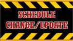 Varsity Baseball and Track Schedule Changes