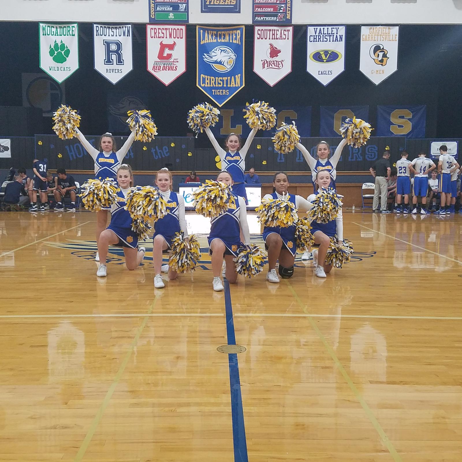 2019-20 Junior High Cheerleading Photos
