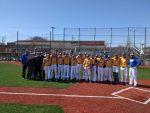 Varsity Baseball wins Opener 13-6