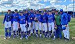 Varsity Baseball beats Tusky Central Catholic 8 – 1