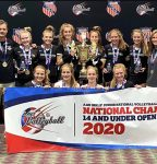 Vogt represents FCS Volleyball on National Championship Team