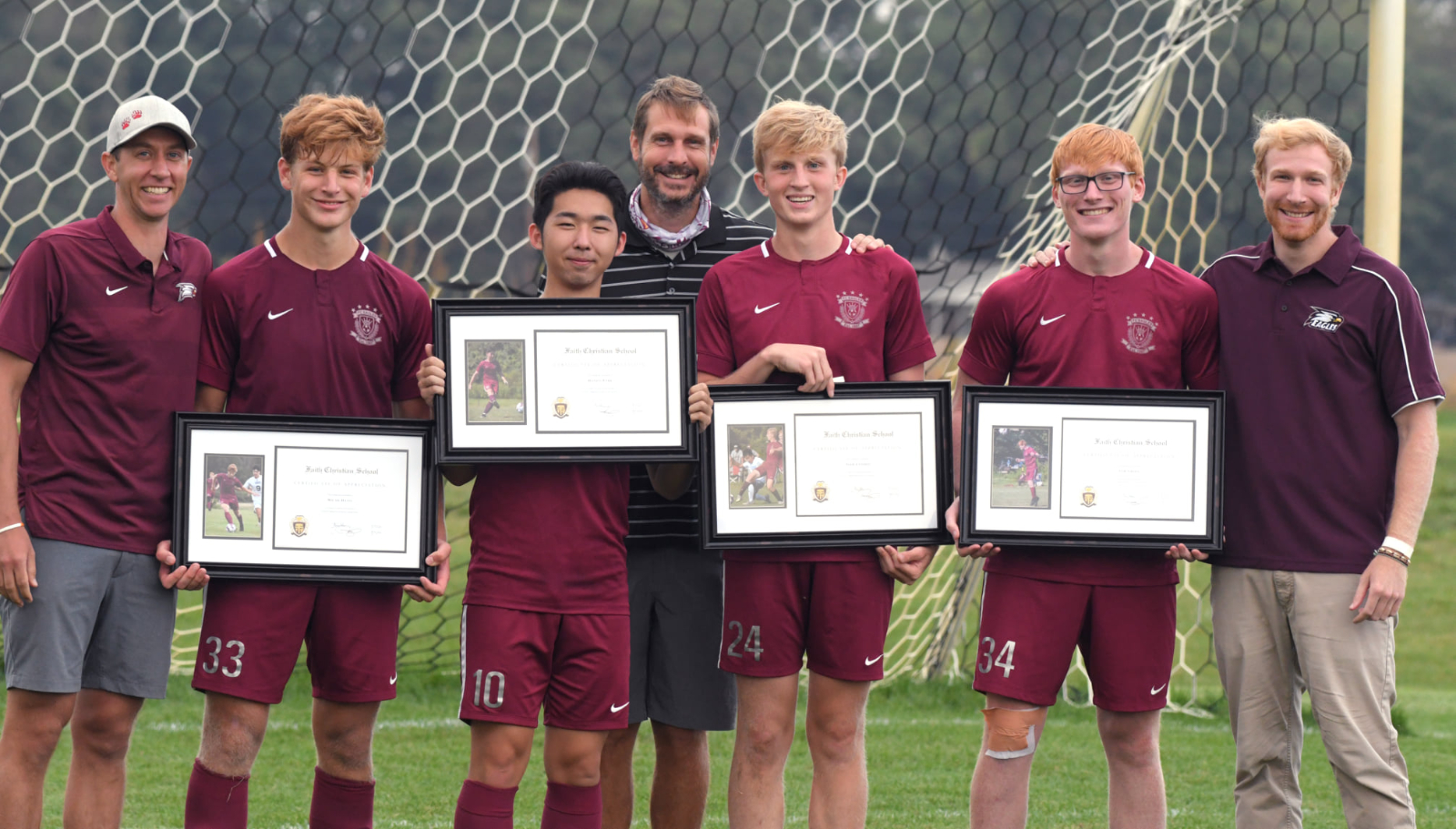 Boys Soccer Draw on Senior night / Girls Soccer win big / Volleyball Falls to Falcons