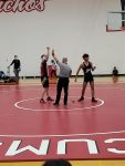 Wrestlers hit the mat at Jeff on Saturday
