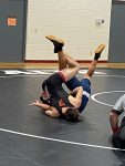 Wrestling falls to Seeger in Thursday match-up