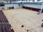 Gym Floor Project Underway