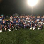Jackson-Milton Football First Hitting Practice