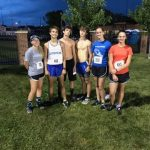 Jacskon-Milton Cross Country Attends Star Trax 5k