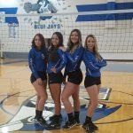 Senior Night for 4 Volleyball Seniors- October 11th