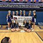 Jackson-Milton HS Cheerleading State Champions