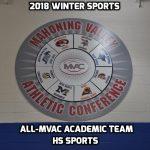 Winter HS Sports Academic All-MVAC