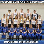 HS OHSAA Tournament Information