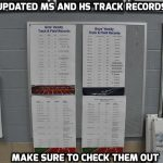 Updated MS and HS Track Record Boards