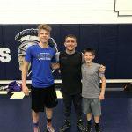Ryan Staton and Owen McDevitt Attend Zain Retherford Camp