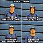 4 Blue Jay Baseball Players Selected All-MVAC