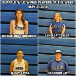 May 21st Buffalo Wild Wings Players of the Week