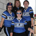 Coach Abe and 3 Lady Jays All-Star Game Experience