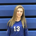 Aces Are the Theme of the Night for the Lady Jays J.V. Volleyball Team in 2-0 Win Over Lowellville High School