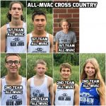 7 Cross Country Runners Earn All-League Recognition at MVAC League Championships