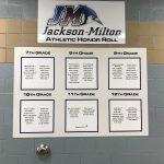 Jackson-Milton Athletic Honor Roll 4th Nine Weeks Edition