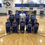 Boys 7th Grade Basketball falls to Lowellville Local 25 – 6