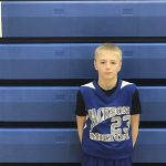 Aiden Stanke Scores 13 Points and Joey Zayas has 9 Points for 7th Grade Boys Basketball in Loss to Springfield Local