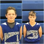 Cayden Mitchell and Jack Pittman Spark 7th Grade Boys Basketball in Loss to McDonald in MVAC Tournament