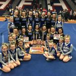 High School Cheerleaders Win Gold; Youth Cheerleaders Earned 1st and 3rd Place