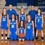Girls 7th Grade Basketball Team Finishes Runner up In The MVAC Tournament