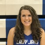 Abigail Spalding Has 17 Points and 9 Rebounds in Lady Jays Varsity Basketball Team's 10th Win of the Season