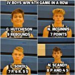 Blue Jays Boys Junior Varsity Basketball Team Extend Win Streak To 4 Wins In A Row In 35-34 Win Over Southeast High School