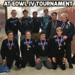 9 Blue Jays Wrestlers Place at Junior Varsity EOWL Tournament