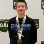 Owen McDevitt Qualifies For Ohio Junior High Wrestling State Championships
