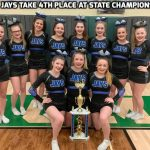 Lady Jays Cheerleading Finishes 4th at OASSA State Championships