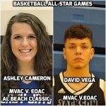 Ashley Cameron and David Vega Selected for Area Basketball All-Star Games