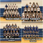 High School Baseball, Softball And Track Home Openers This Week!