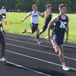 Boys Varsity Track Competes at OHSAA District Prelims