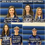2019 Baseball and Softball All-MVAC Selections
