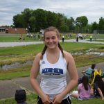 Grace McDevitt Competes in her Second Event at the OHSAA Regional Championship