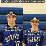 Sophomores Frankie Prozy and Aaren Landis Named to NEOBCA Division 4 All-District Team