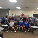 Jackson-Milton Football Teams Bond at Team Bowling Night
