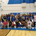 Girls Varsity Volleyball falls to Wellsville 3 – 0