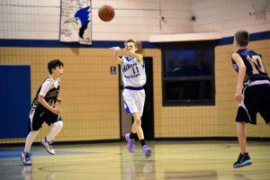 Boy's Middle School Basketball Jan. 15, 2020