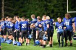 JV Football's Hard Fought Game vs. Columbiana Ends in Tie