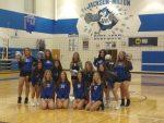 Girls Varsity/JV Volleyball beats Waterloo 3 – 2