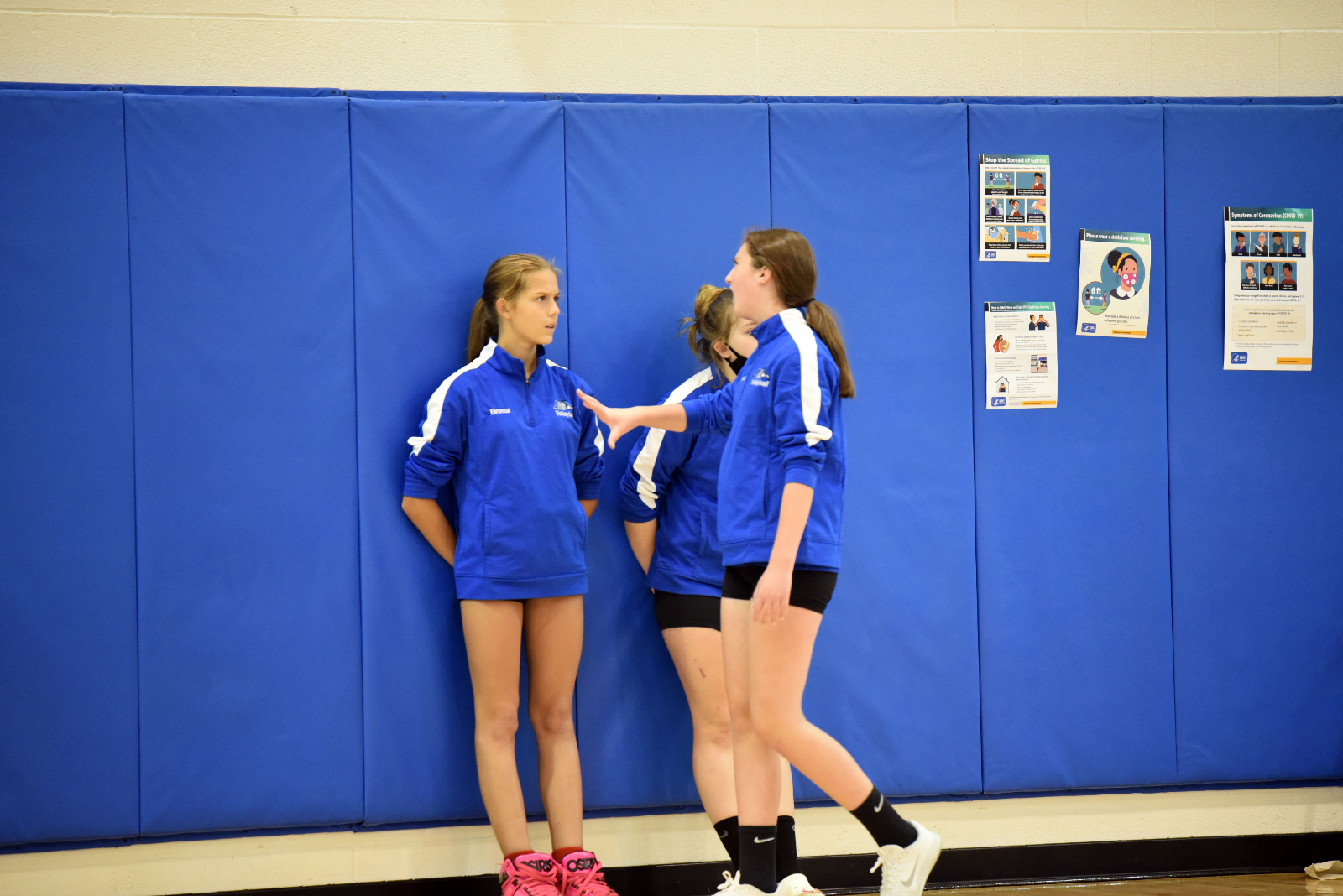 Middle School Volleyball Oct 13, 2020